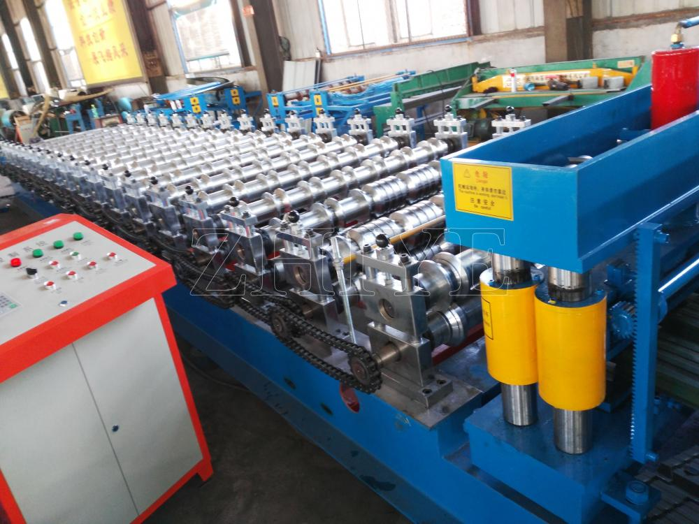 Structural Glazing Roof Sheet Roll Forming Machine