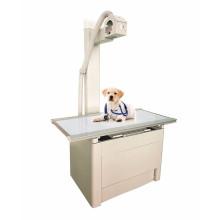 Mesa veterinária de radiologia com tampo flutuante de quatro vias para máquina veterinária xray