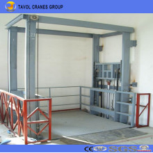 China Ce ISO Hydraulic Rail Type Goods Lift Cargo Lift