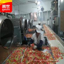 novo sabor seco frutos do mar lanche colorido biscoito de camarão