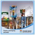 Boîte d'emballage alimentaire transparent en plastique de haute qualité