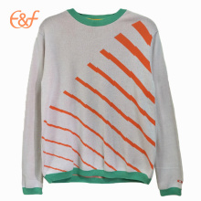 Fashion Design Light Color Fancy Sweater for Men