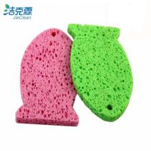 Esponja de celulosa de forma de pescado