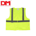 EN1150 children Hi Vis Orange Reflective Safety Vest for kids