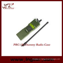 Militar fictício Walkie Talkie Prc 152 rádio interfones modelo
