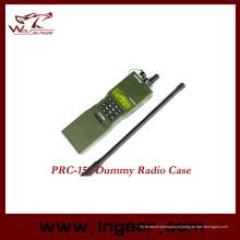 Militar fictício Walkie Talkie Prc 152 rádio interfones modelo