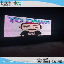 La publicité extérieure polychrome extérieure de mur d'affichage de P6 a mené l'écran d'affichage