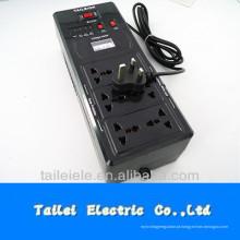 UK plug and univer socket estabilizador de tensão 600VA 220V 110V