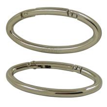 Metal Oval Silver Carabiner