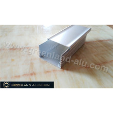 Furthing Cortina de Processamento perfil de alumínio da trilha