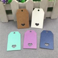 tarjeta de papel de joyería tarjetas de papel personalizadas