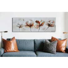 Lavish Flower Wall Art Larger-than-life Flower Oil Painting