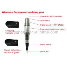 Máquina de maquiagem permanente sem fio permanente e caneta de tatuagem de maquiagem barata e de alta qualidade