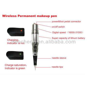 wireless Permanent makeup digital machine & cheap and high quality makeup tattoo pen