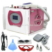 2014 Hot Sale CE Aprovado Q-Switched ND Yag máquina de remoção de tatuagem a laser