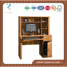Compact Computer Desk with Hutch