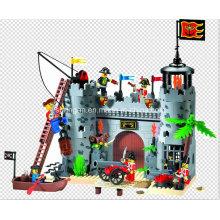 Pirates Series Diseñador Fort Rob Barrack 366PCS Bloque Juguetes