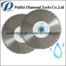 Lâmina de serra circular do diamante molhado do mármore do granito do disco do corte