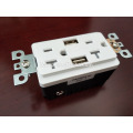 Best Seller High Speed Dual USB Charger Outlet 20A TR Receptacle Screwless Wall Plates