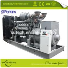 Jogo de gerador diesel elétrico de 640Kw / 800Kva, alimentado pelo motor 4006-23TAG3A