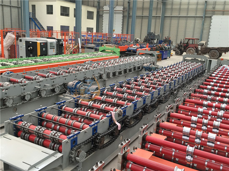 High Technology GI Decking Floor Forming Machines