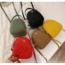 Wholesale Fashion Double Zipper Shoulder Bags Women Small Handbag Backpack Shell Cross Body Bag