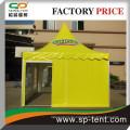 Aluminiumrahmen 6x6m Gelb PVC Pagode Event Zelt mit Logodruck