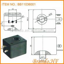 A044 Tipo Clase de aislamiento de 220 voltios H 11x36mm Válvula de pulso Solenoide Bobina