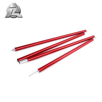 China suppliers custom 7001 t6 adjustable folding aluminum tent pole
