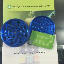 New Arrival Enjoylife marca Durable Sharp CNC Teeth Atacado Custom Herb Grinder Metal Smoke Grinders