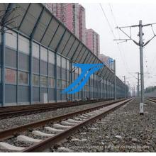Fábrica Railway da barreira do viaduto da passagem superior, barreira sadia residencial