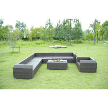 Jardin rotin Design spécial différents Types de canapé robuste