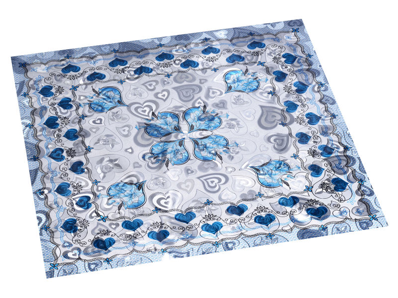 Independent Double Face Embossed Tablecloth