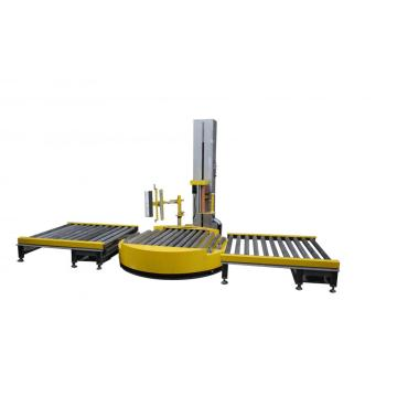 Sepenuhnya automatik pallet stretch wrapping machine