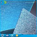 Makrolon matériau vierge revêtement de sol en polycarbonate toiture soleil prix
