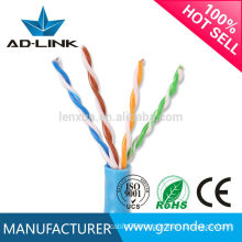 28awg Cat5 utp 4prs stranded network cable with pvc jacket
