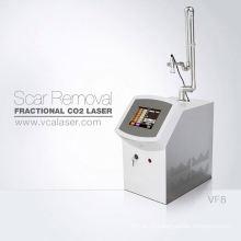 Machine médicale professionnelle usage domestique co2 laser de blanchiment de la peau