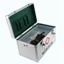 Kit de primeiros socorros em alumínio com alça