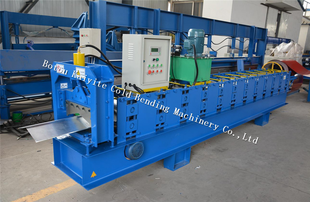 PPGI ridge cap roll forming machine
