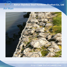 Hot-Dipped Galvanized Hexagonal Wire Mesh Gabion