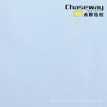 Tissu polyester 75D Twill, 100% tissu polyester