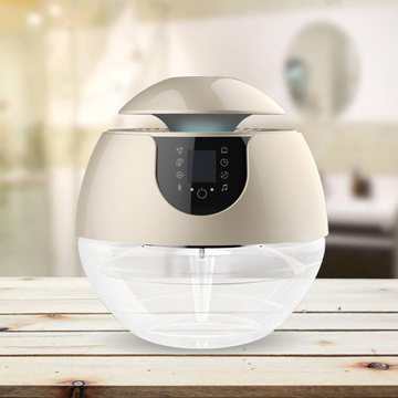 Household LED iluminado Bluetooth Air Purificador de ar para casa