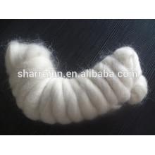 Super Qualité Mohair Laine Blanc