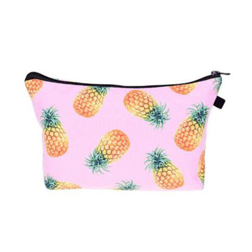 Flower Cotton School Pen Bag or Cosmetic Bag