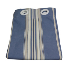 New Stripe blue window fabric curtain