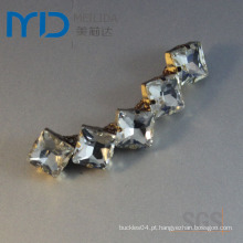 Fivela de diamante de moda para Lady Shoe