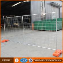 Clôture en métal de clôture portative de clôture en métal de barrière provisoire de l'Australie