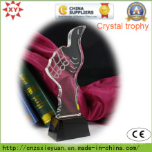 Hochwertige Crystal Trophy Medaille zum Gedenken