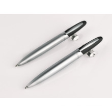 Custom Logo Super Thin Ballpoint Stylus Metal Pens
