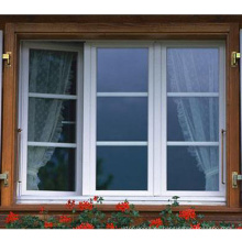Sierras de doble inglete para ventana de pvc de perfil plastico.